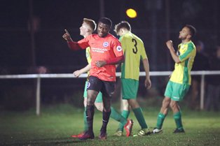 David Ajiboye, Labelled The Next Finidi George, Stars As Brighton Advance In FAYC