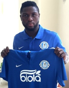 Michael Babatunde Makes Official Debut For Dnipro Dnipropetrovsk