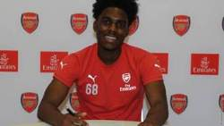 Nigerian Winger, Dubbed The Poor Man's Victor Moses, Trains With Arsenal First-Team
