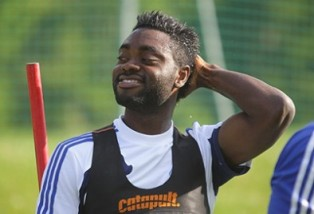 Lukman Haruna Now A Proud Dad As Girlfriend Puts To Bed