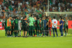 'It Was Not A Shame Losing Vs Algeria' - Rohr Highlights Two Stats That Prove Super Eagles Played Well