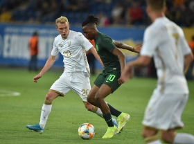 'Next Obi Mikel' Reacts To Scoring On His Super Eagles Debut Against Ukraine