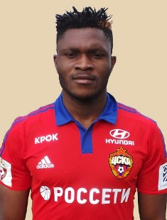 Aaron Samuel Voted Third Best Player At CSKA Moscow For April