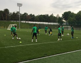 Super Eagles Depart Base Camp For St. Petersburg 1455 Hours; Recovery Training For Mikel, Musa