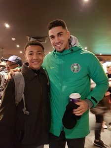 Feyenoord Super Kid Omidiji Turns Heads After First Training Session With Nigeria