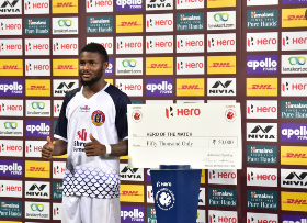 Ex-Wolves Striker Enobakhare Scores In Second Consecutive Match For East Bengal; Given N317,000