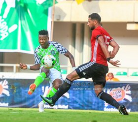 Bordeaux Star Kalu Receives Highest Praise Possible From Super Eagles Coach Rohr After Wonder Goal
