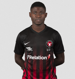 Sunday Odeh Ruled Out Of FC Midtjylland's Crucial UYL Clash Against Porto