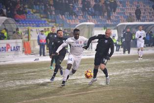 Promising Nigerian Striker Delighted To Score On Botosani Debut