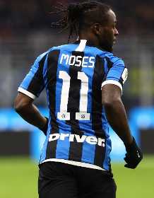 Former EPL Managers Mancini, Vialli & Koeman Watch Victor Moses Provide Assist In Milan Derby
