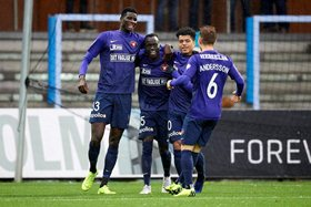 Midtjylland's Onuachu Increases Goal Tally To 17 But Receives First Career Red Card