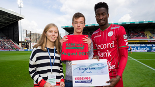 Peter Olayinka Named Zulte Waregem Player Of The Month