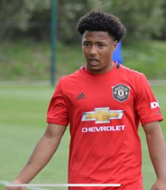 Hoogewerf's Reaction After Scoring First Brace For Manchester United Youth Team