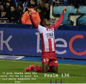 Awoniyi Comes Back To Haunt Former Club, Scores As Royal Excel Mouscron Beat Gent