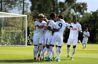 Tottenham 4 Dortmund 0 UYL : Bennetts On The Mark, Eyoma Stars