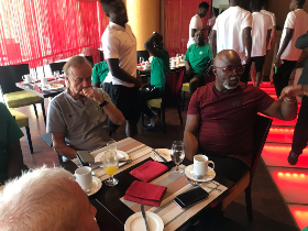 NFF President Pinnick : Rohr Will Not Be Sacked As Super Eagles Coach After AFCON