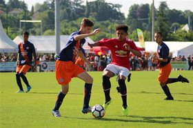 Manchester United's Nigerian Winger Showing Off His Skills In France