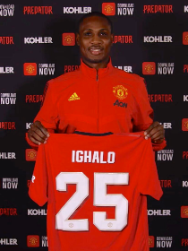 The Reason Ighalo Is Not Training At Manchester United's AON Training Complex