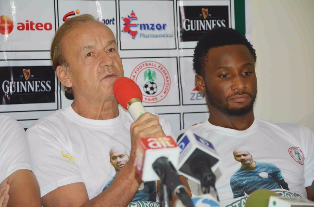 Rohr Debunks Rumours Of Mikel Stripped Of Super Eagles Captaincy
