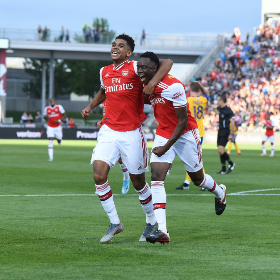 Arsenal Coach Emery Runs The Rule Over Young Nigerian Midfielder Ahead Of Potential Debut