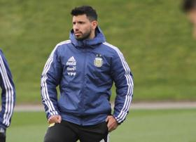 Man City's Aguero, Four Argentina Stars Begin Training For World Cup