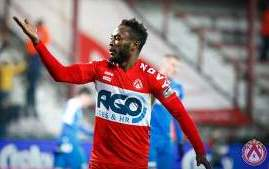 Ex-Nigeria U20 Captain Ajagun Scores Eighth Goal Of The Season For Kortrijk