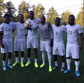 Image result for Super Eagles Provisional Squad Numbers